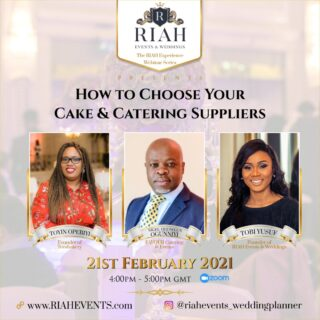 How to choose your cake and catering wedding suppliers featuring founders of Tee's Bakery, Favour Catering and Events, RIAH Events